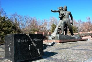 Монумент Мужество в Ташкенте