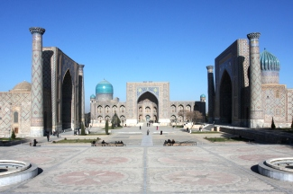 Регистан в Самарканде