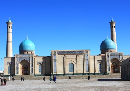 Ансамбль Хазрет Имам в Ташкенте